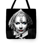 Greta Garbo Portrait Tote Bag