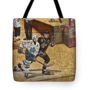 Gretzky And Gilmour 2 Tote Bag