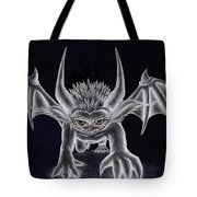 Grevil Silvered Tote Bag