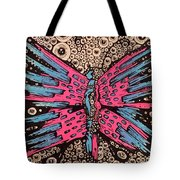 Grew Through A Million Eyes Tote Bag