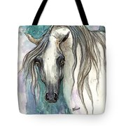 Grey Arabian Horse 2013 11 26 Tote Bag