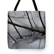 Grey Days Of November Tote Bag