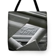 Grey Ford Tractor Logo Tote Bag