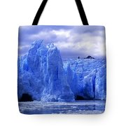 Grey Glacier Patagonia Chile Tote Bag