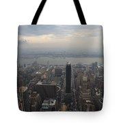 Grey Sky Over Manhattan Tote Bag