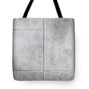 Grey Tiles Tote Bag