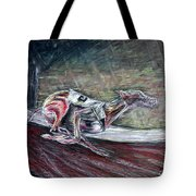 Greyhound Number Three Tote Bag