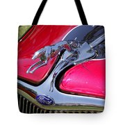 Greyhound On A Ford Tote Bag
