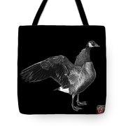 Greyscale Canada Goose Pop Art - 7585 - Bb  Tote Bag