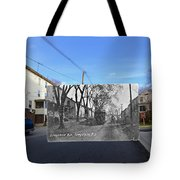 Greystone Avenue In North Providence Rhode Island Tote Bag