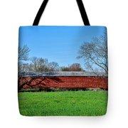 Griesemers Mill Covered Bridge Berks County Pennsylvania Tote Bag