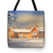 Griffin House School - Snowy Day Tote Bag