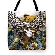 Griffin In Waterfall Tote Bag