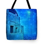 Griffith Park Observatory At Night Tote Bag