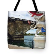Griffin Charms The London Bridge Tote Bag