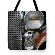 Grill And Headlight Tote Bag