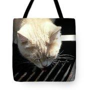 Grill Grate Gato Tote Bag