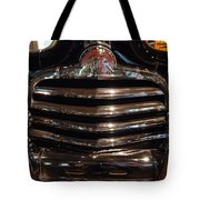 Grille 1947 Pontiac Tote Bag