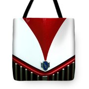 Grille And Logo Tote Bag