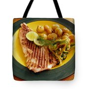 Grilled Fish Tote Bag