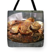 Grilled Pirana Tote Bag