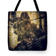 Grinding Gears Tote Bag