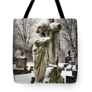 Grip Of Winter Tote Bag