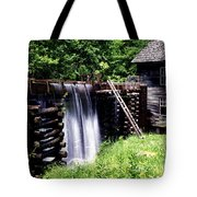 Grist Mill And Water Trough Tote Bag