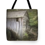 Grist Mill At Cades Cove Tote Bag