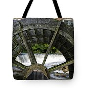 Grist Mill Wheel With Spillway Tote Bag