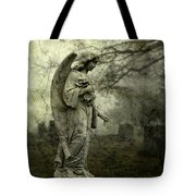 Dark And Gritty Fog Tote Bag