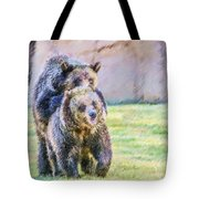 Grizzlies Tote Bag