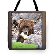 Grizzly Bear 01 Tote Bag