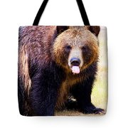 Grizzly Bear 1 Tote Bag