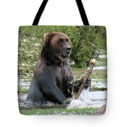 Grizzly Bear 6 Tote Bag