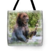 Grizzly Bear Photo Art 01 Tote Bag