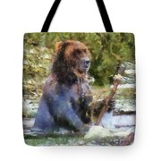 Grizzly Bear Photo Art 02 Tote Bag