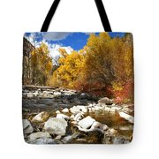 Grizzly Creek Canyon Tote Bag
