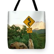 Grizzly Cubs Tote Bag