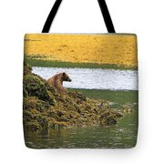 Grizzly Relaxing Tote Bag