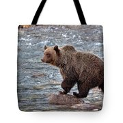 Grizzly River Tote Bag
