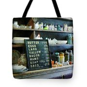 Groceries In General Store Tote Bag