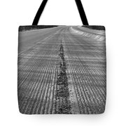 Grooved Road Tote Bag