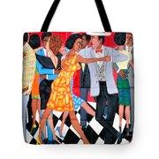 Groovin High In Nyc Tote Bag