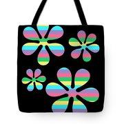 Groovy Flowers 4 Tote Bag