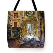 Gros Horlaoge Rouen France Tote Bag