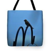 Grosbeak Silhouette Tote Bag