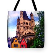 Gross St. Martin In Cologne Germany Tote Bag