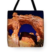 Grosvenor Arch Sunset Kodachrome Basin Tote Bag