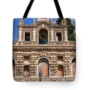 Grotesque Gallery In Real Alcazar Of Seville Tote Bag
